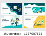 website and mobile website... | Shutterstock .eps vector #1337007833