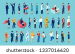 Vector Of Different People Of...