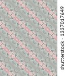 abstract textile pattern design  | Shutterstock . vector #1337017649