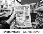 paris  france   mar 12  2019 ...   Shutterstock . vector #1337018090