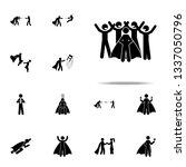 people love superhero icon.... | Shutterstock .eps vector #1337050796