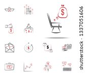 pensions icon. finance icons...   Shutterstock .eps vector #1337051606