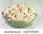Macaroni Salad With Mayonnaise...