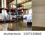 archive folder  stacks of paper ... | Shutterstock . vector #1337133860