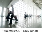 passenger in the shanghai... | Shutterstock . vector #133713458