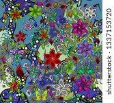 design. flat elements. doodles... | Shutterstock . vector #1337153720