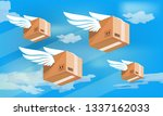 a group of packaging products...   Shutterstock .eps vector #1337162033