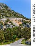 provence region  alpes  france. ... | Shutterstock . vector #1337165210