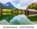 k nigssee   the cleanest lake... | Shutterstock . vector #1337165216