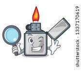 detective cigarette lighters...   Shutterstock .eps vector #1337170619