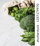 Healthy Green Vegan Ingredient...