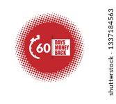 60 days money back   Shutterstock .eps vector #1337184563