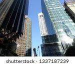 downtown manhattan buildings | Shutterstock . vector #1337187239