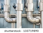 industrial pipes | Shutterstock . vector #133719890