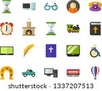 color flat icon set   bible... | Shutterstock .eps vector #1337207513