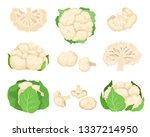 Cauliflower Set. Organic Food...