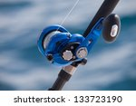 big game fishing  reels and rods | Shutterstock . vector #133723190