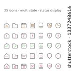mobile web ui icon vector set   ...