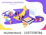 isometric vector illustration... | Shutterstock .eps vector #1337258786
