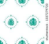spring seamless pattern | Shutterstock .eps vector #1337279720