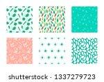 spring seamless pattern | Shutterstock .eps vector #1337279723