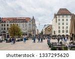 oslo  norway  8 10 2018. city... | Shutterstock . vector #1337295620