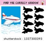 passenger airliner. find the... | Shutterstock .eps vector #1337300393