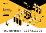 internet technology. smart...   Shutterstock .eps vector #1337311106