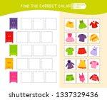 educational game for children... | Shutterstock .eps vector #1337329436