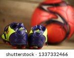 belarus  minsk  march  10  ... | Shutterstock . vector #1337332466