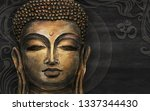 Gautama Buddha And Stylized...