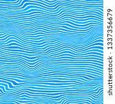 raster blue striped pattern.... | Shutterstock . vector #1337356679