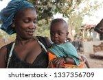buiba  gambia  africa  may 23 ... | Shutterstock . vector #1337356709