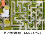 aerial photo top view medium...   Shutterstock . vector #1337357426