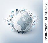 internet of things  cloud... | Shutterstock .eps vector #1337374619