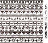 tribal ethnic seamless | Shutterstock .eps vector #133743524