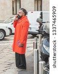 milan  italy   february 22 ... | Shutterstock . vector #1337465909