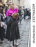 milan  italy   february 22 ... | Shutterstock . vector #1337466209
