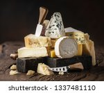 Assortment Of Different Cheese...