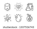 vitamin e  chemistry lab and... | Shutterstock .eps vector #1337526743