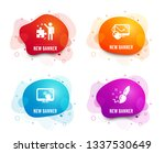 liquid badges. set of computer... | Shutterstock .eps vector #1337530649