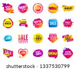 sale banner. special offer... | Shutterstock .eps vector #1337530799