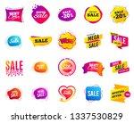 sale banner. special offer... | Shutterstock .eps vector #1337530829