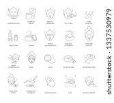 beauty and spa procedure... | Shutterstock .eps vector #1337530979