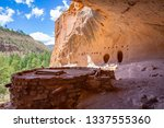 Alcove House in Bandelier National Monument,  New Mexico, USA