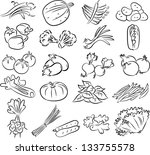 vector illustration of ... | Shutterstock .eps vector #133755578