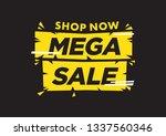 vector isolated illustration of ... | Shutterstock .eps vector #1337560346