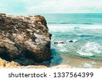 beautiful landscape and...   Shutterstock . vector #1337564399