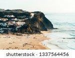 beautiful ocean beach ...   Shutterstock . vector #1337564456