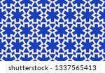blue background. for textile ... | Shutterstock .eps vector #1337565413